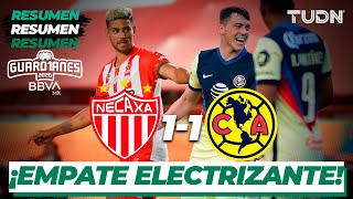 Resumen y goles   Necaxa 1-1 América   Guard1anes 2020 Liga BBVA MX - J3  TUDN