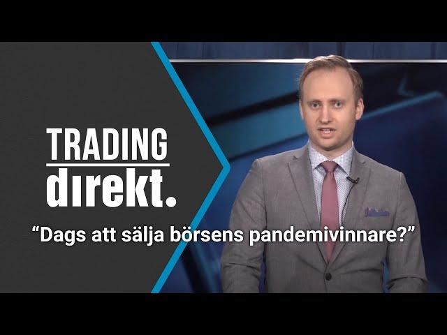 Trading Direkt 2021-01-15: Dags att vända pandemins tillväxtvinnare ryggen?