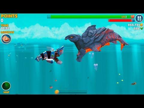 Hungry Shark Evolution Robo Shark Android Gameplay #39