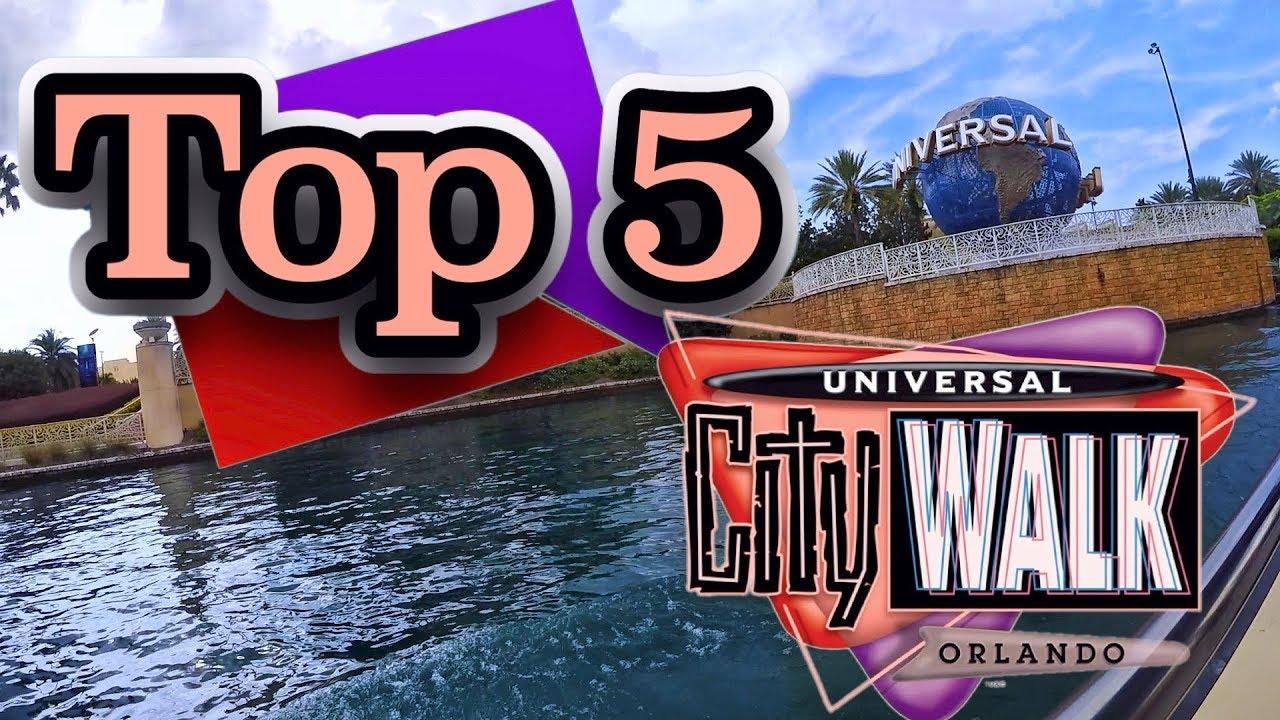 Top 5 Universal Orlando Citywalk Restaurants