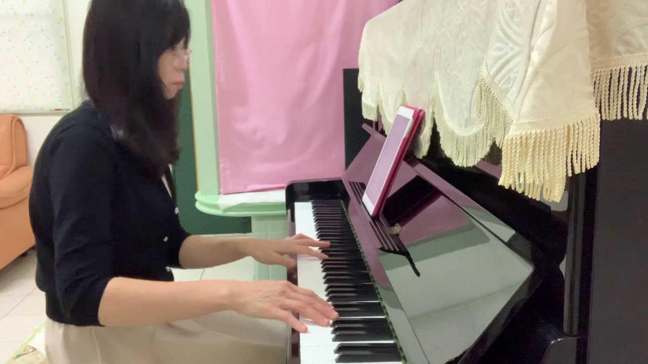 月娘啊!聽我講《江蕙》?鋼琴演奏 Beauty and Piano - YouTube