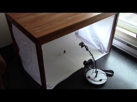 My stop motion animation photo video studio DIY