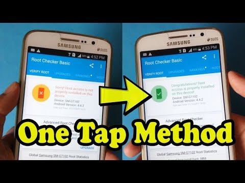 How To ROOT And UNROOT Any Android Phone | ONE TAP METHOD 2018