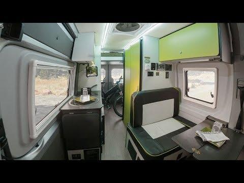 Winnebago's New Revel Camper Van based on Mercedes Sprinter 4x4