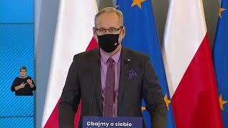 Konferencja  premiera Mateusza Morawieckiego oraz ministra Adama Niedzielskiego - 25 listopada 2020