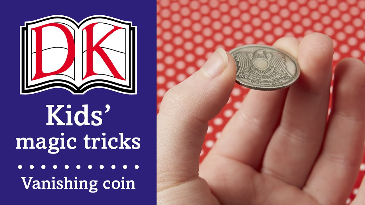 Magic Tricks for Kids: Disappearing Coin Trick - YouTube