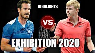 Andy Murray vs Kyle Edmund EXHIBITION 2020