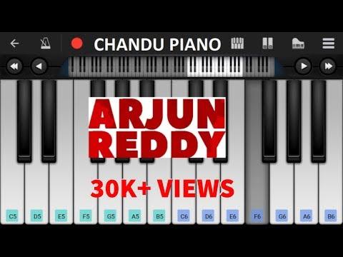 ARJUN REDDY   Love BGM - Mobile Perfect Piano Tutorial   Keyboard Notes
