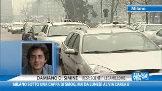 Milano sotto una cappa di smog, ma da lunedì al via l'Area B