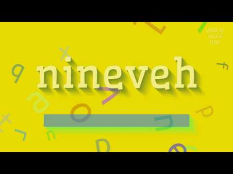 "How to say ""nineveh""! (High Quality Voices)"