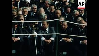 UPITN UNUSED 5 6 80 THE FUNERAL SERVICE OF YUGOSLAVIAN PRESIDENT TITO