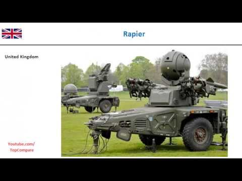 Rapier versus 9M330 Missiles (TOR), Air defense system Key features