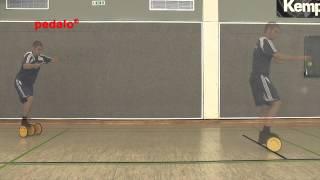 Produktvideo zu Koordinationstrainer für mehr Sprunggelenksstabilität Pedalo Sport Grau