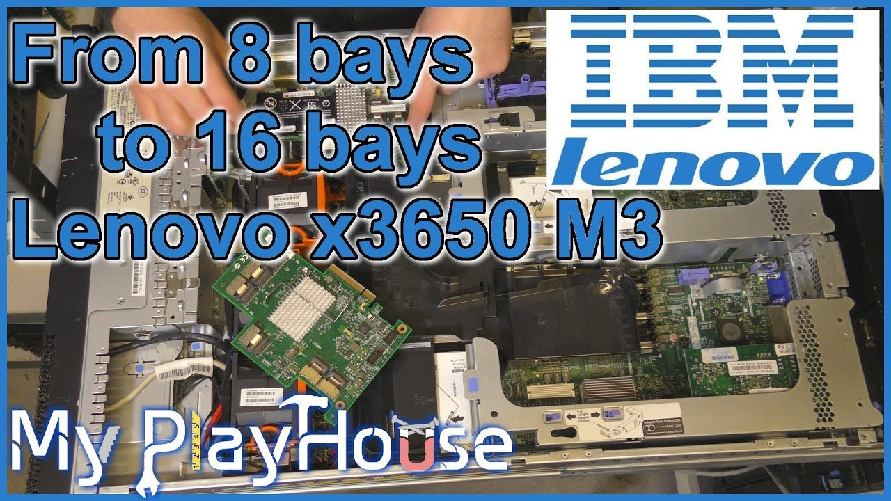 SAS Expander Card, for 16 bays in a Lenovo x3650 M3 - 629