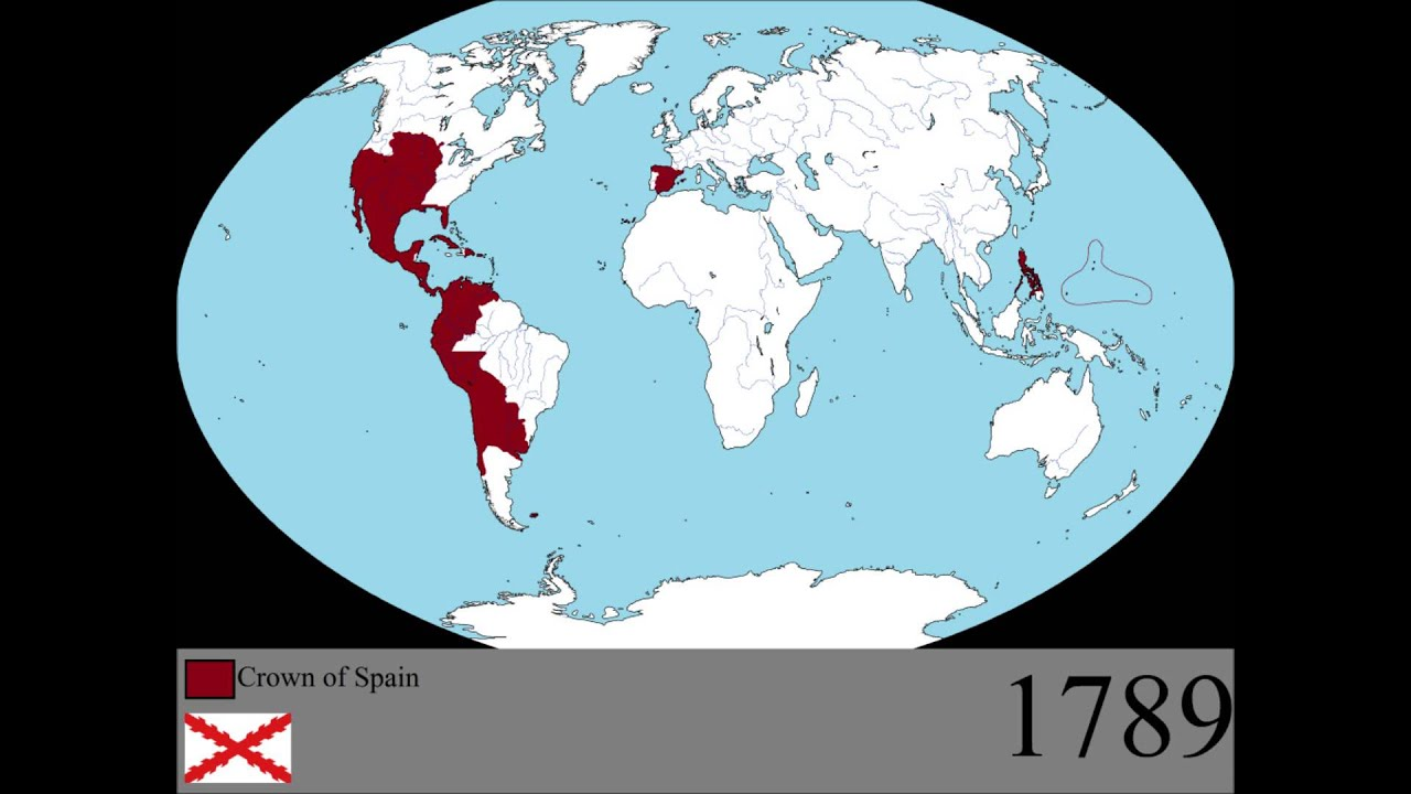 The Rise And Fall Of The Spanish Empire Youtube