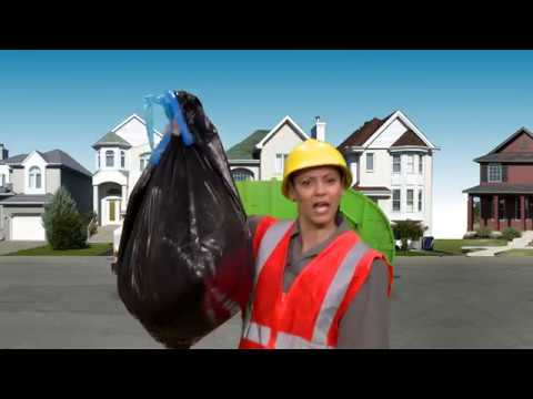 Kaitlin and Chica Trash Truck Music Video