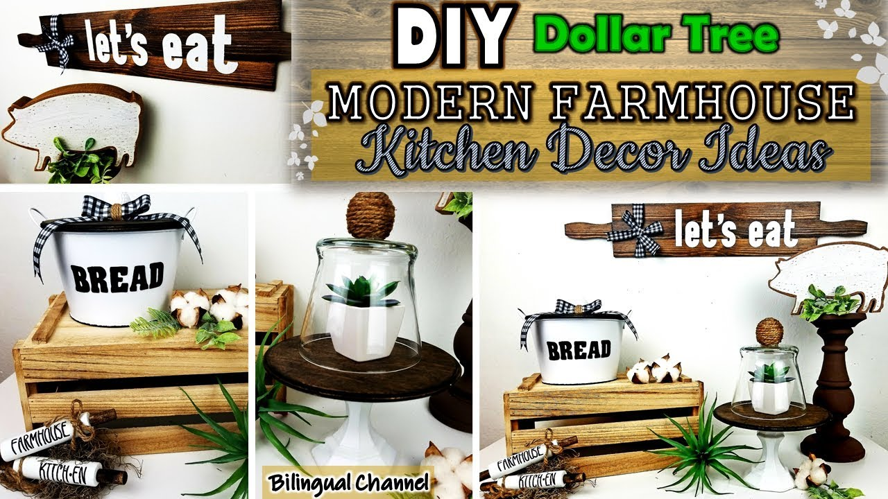 Dollar Tree Diy Farmhouse Kitchen Decor Diy Home Decor Ideas