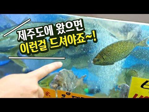 제주도에 가면 맛봐야 할 특별한 생선회(서귀포 올레시장편)