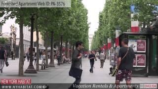 Paris, France - Video Tour Of A Furnished Apartment On Rue Ponthieu (8th District - Champs Elysées)