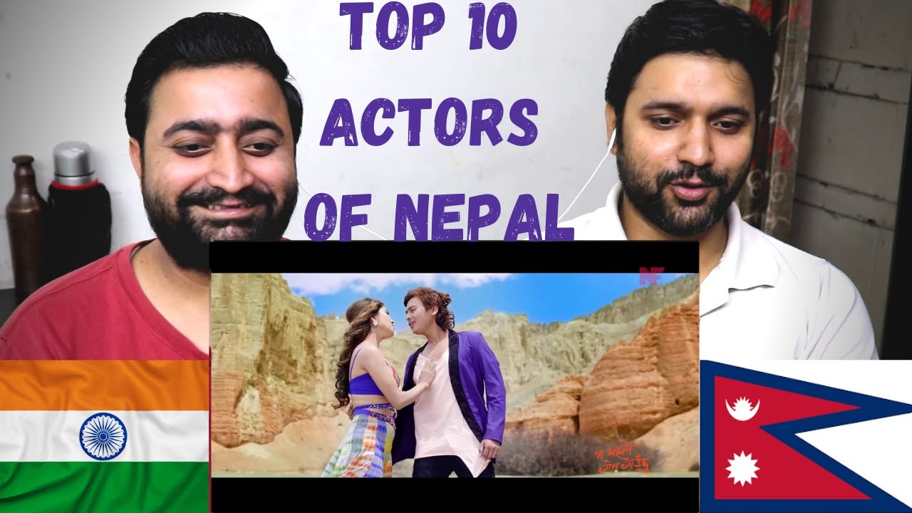 INDIAN REACTION ON Top 10 Actors of Nepal