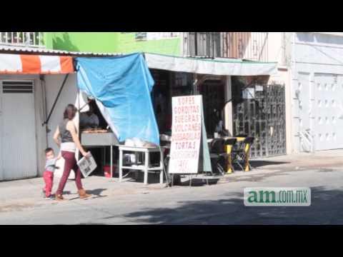 Puestos de comida proliferan en las calles