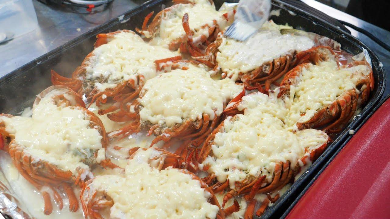 6900원짜리 랍스터 치즈구이, 포항 최대규모 야시장 재개장 $6 grilled cheese lobster - korean street food