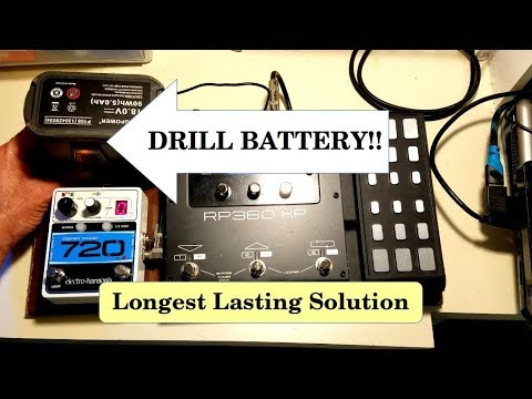 use buck converter to power guitar pedal board with 18v battery youtube. Black Bedroom Furniture Sets. Home Design Ideas