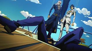 Leone Abbacchio uses his stand Moody Blues (1080p60fpsHDR)