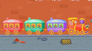 Let's Play • Railway • dla dzieci, Pociąg, ciuchcia, kolejka, bajki, Gry dla dzieci