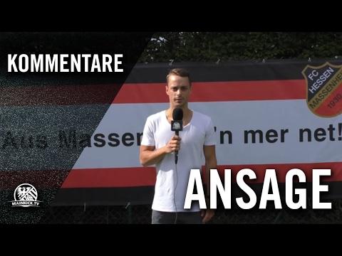 Ansage Von Tillman Kratz (FC Hessen Massenheim) | MAINKICK.TV