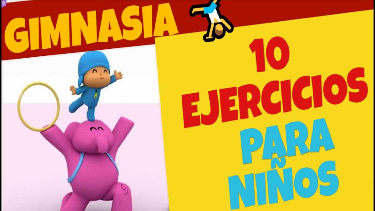 ejercicios de activacion para niños