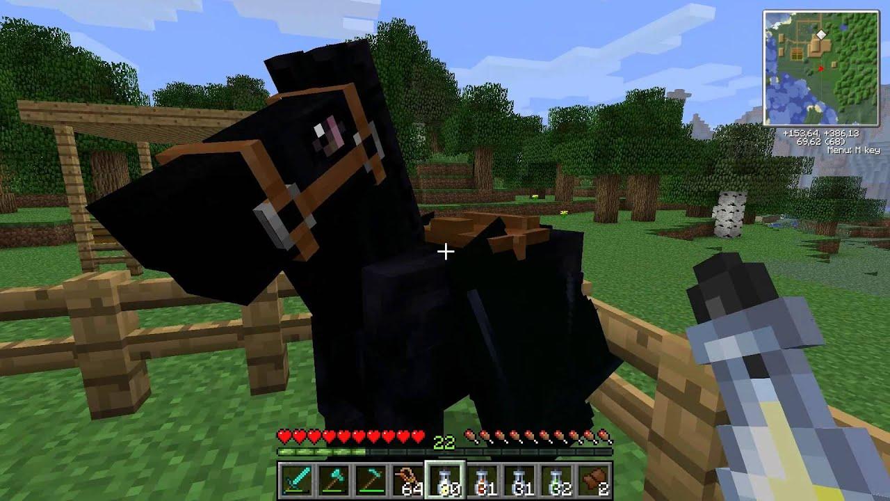 Minecraft Mo Creatures PferdezuchtGuide Ab MC Version - Minecraft spiele mit pferden
