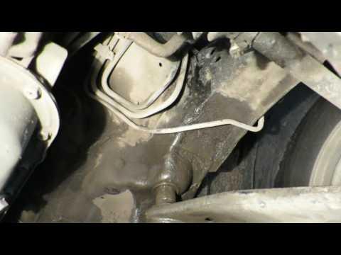 Left longeron Subaru Forester III 2009