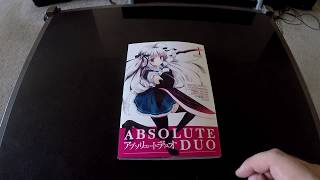 Absolute Duo Manga Review! A great series!
