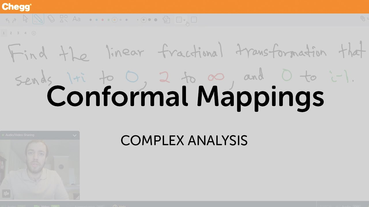 Conformal Mappings | Complex Analysis | Chegg Tutors