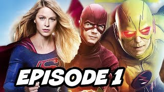Legends Of Tomorrow Season 2 Episode 1 Justice Society TOP 10 WTF and Easter Eggs