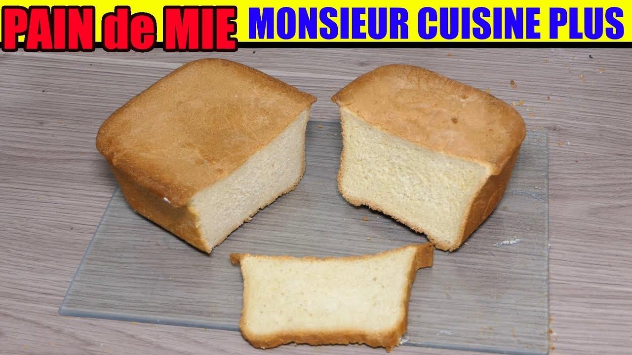 Thermomix Cuisiner Pour 6 Et Plus pain de mie monsieur cuisine edition plus thermomix recette soft bread  sandwichbrot