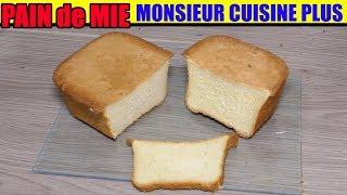 pain de mie monsieur cuisine edition plus thermomix recette soft bread Sandwichbrot