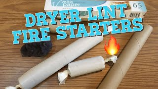 DIY Dryer Lint Fire Starter : Upcycled Fire Starters
