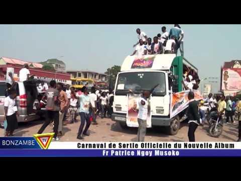 Fr Patrice ngoy Musoko Carnaval du sortie officiel de album NANI ALIEE MBUMA