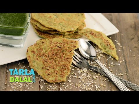 Buckwheat Pancake (Diabetic Snacks) by Tarla Dalal