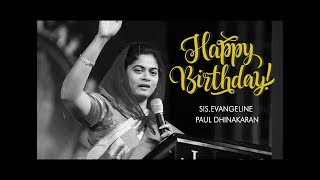Autobiography Of Sis. Evangeline Paul Dhinakaran From Her Book -