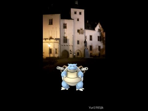 Pokemon GO - Kutná Hora 1# Lureparty 12.11.2016 a 33 Level !!! + 10km Egg