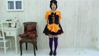 ミアコスチューム DE6019 ボーダーニーハイ1cm 色:紫×黒 サイズ:フリ...