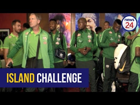 WATCH: Bafana Bafana touch down in Cape Verde Islands