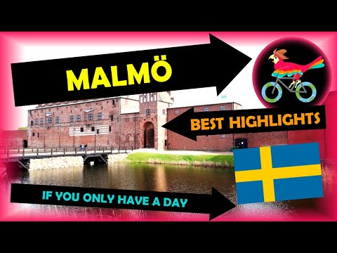MALMÖ Sweden, Travel Guide - What To Do: IN ONE DAY (Tour - Self Guided Highlights)