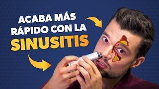 Cómo curar la SINUSITIS más rápido