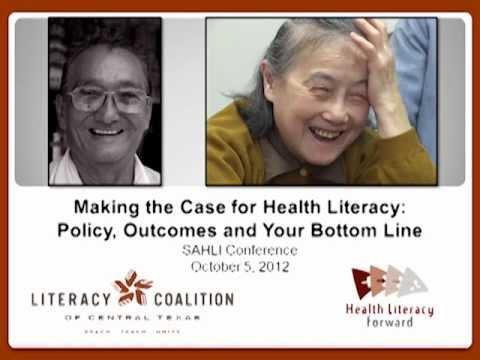 SA Health Literacy 2012: 4. Peter Morrison