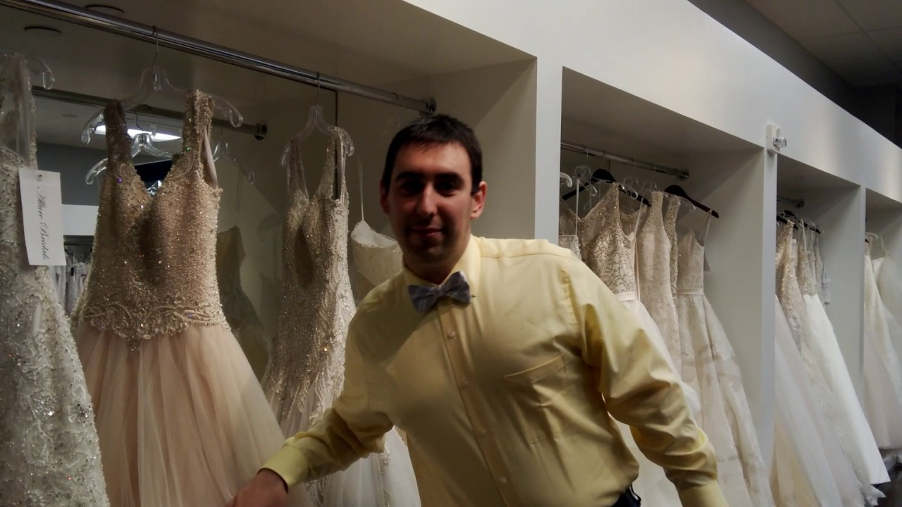 Silent Tour inside Truly Yours Bridal, Williamsburg - YouTube