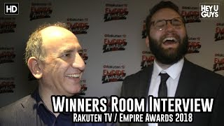 Armando Iannucci & Peter Fellows On The Death Of Stalin - Empire Awards 2018 Winners Room Interview